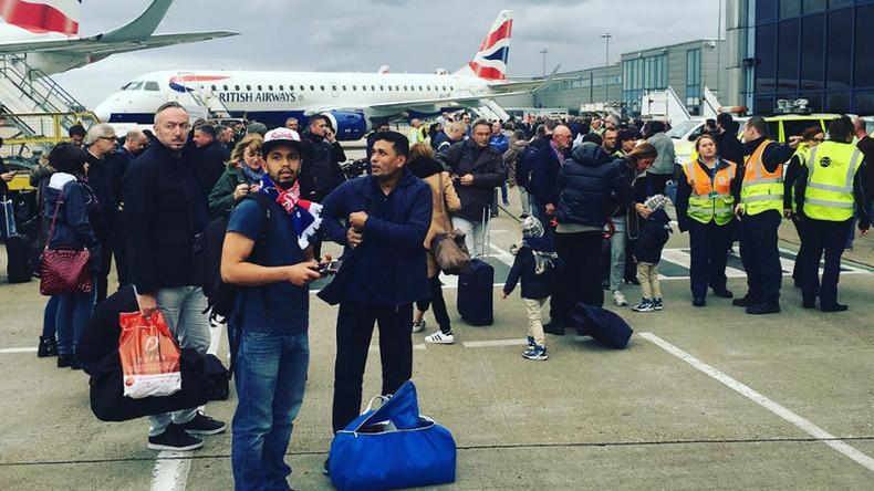Terrorverdächtiger von London City Airport festgenommen