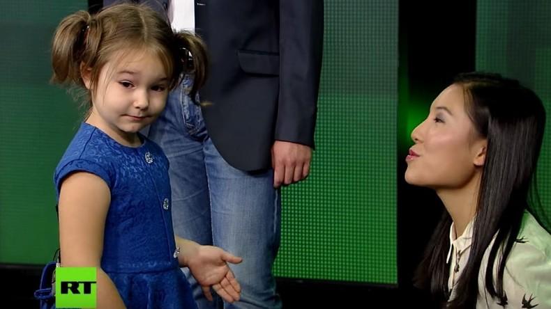 Vierjährige Moskauerin spricht sechs Fremdsprachen