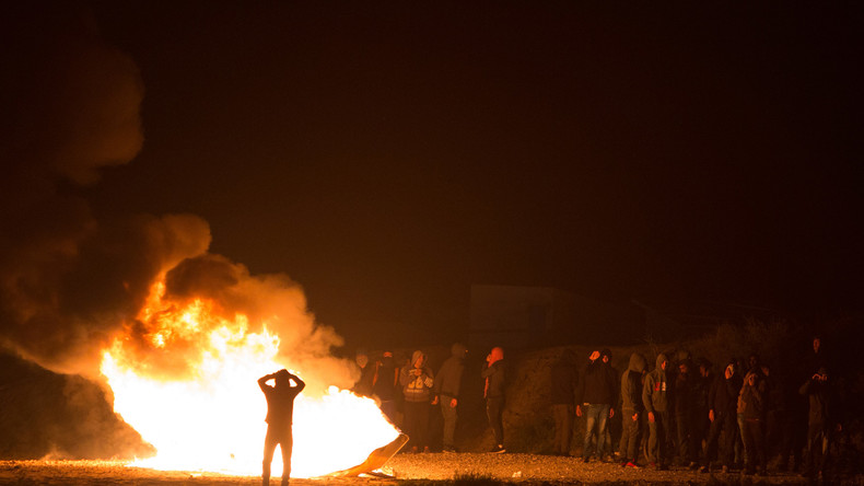 Gewalt in Calais: Geplante Räumung des Flüchtlingscamps lässt Lage eskalieren