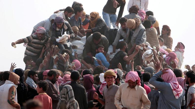 """Mossul: Flüchtlinge und tote Zivilisten führen zu """"humanitärer Katastrophe"""""""