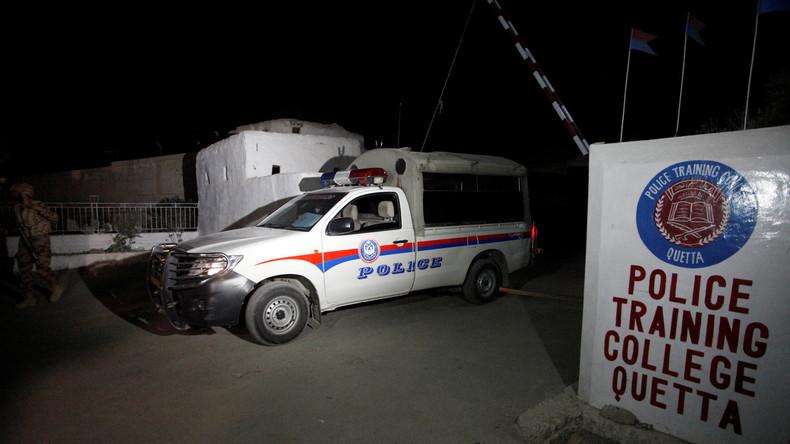 Geiselnahme in Polizeiakademie in Pakistan - 59 Tote, über 100 Verletzte