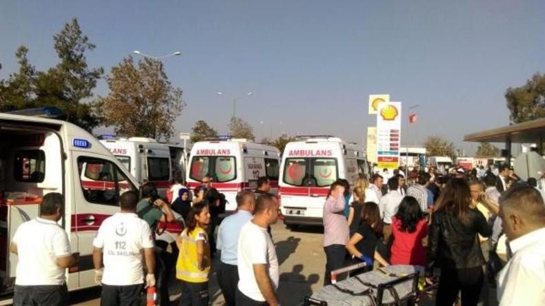 Türkei: Starke Explosion auf Parkplatz in Antalya