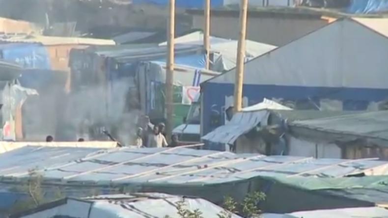 Live: Behörden setzen Auflösung von Flüchtlingscamp in Calais fort