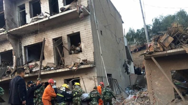 China: Mindestens 14 Opfer und 147 Verletze bei Explosion von Sprengstofflager in Wohnhauskeller