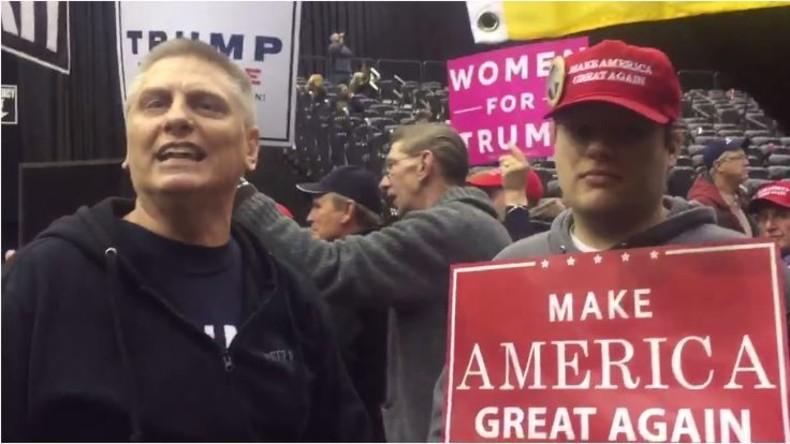 """""""Lügenpresse"""" in den USA: Fans von Donald Trump beschimpfen Journalisten"""