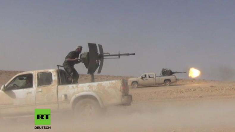 Syrien: SAA erobert mit russischer Hilfe weiteres Gebiet vom IS zurück