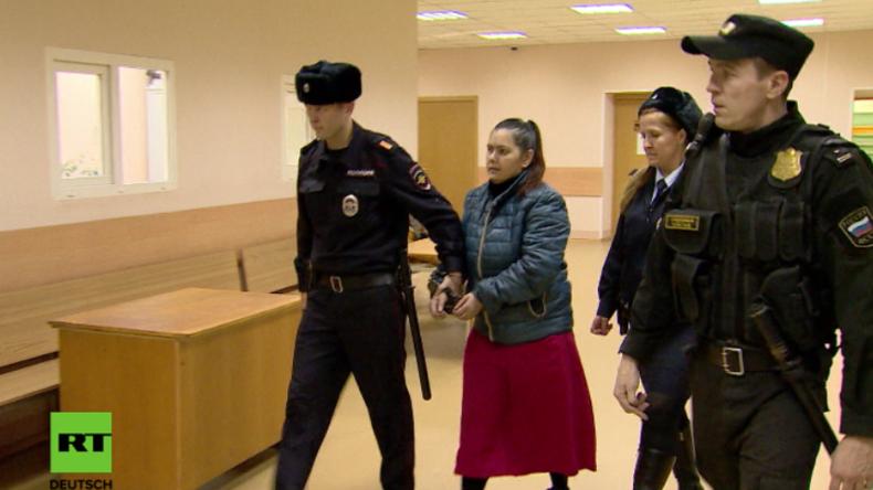 Moskau: Tagesmutter bekennt sich schuldig, vierjähriges Mädchen in Moskau geköpft zu haben