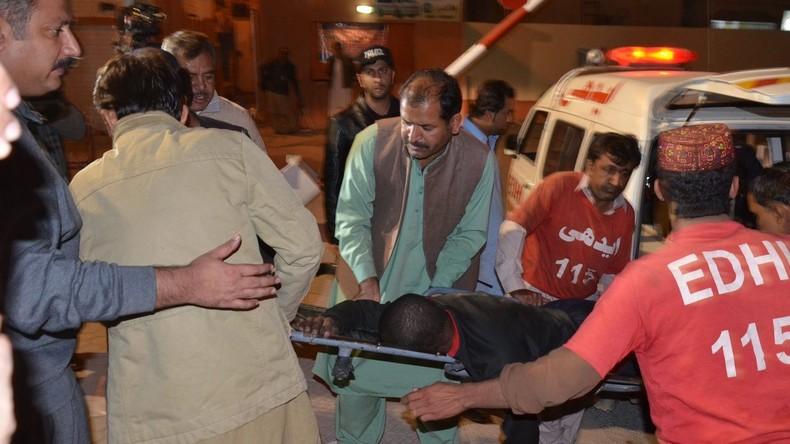 Pakistan: Islamischer Staat bekennt sich zur Geiselnahme in Polizeiakademie