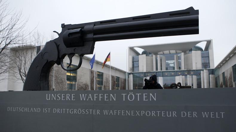 Im Fadenkreuz westlicher Werte. Deutsche Ausfuhr von Kleinwaffenmunition verzehnfacht.