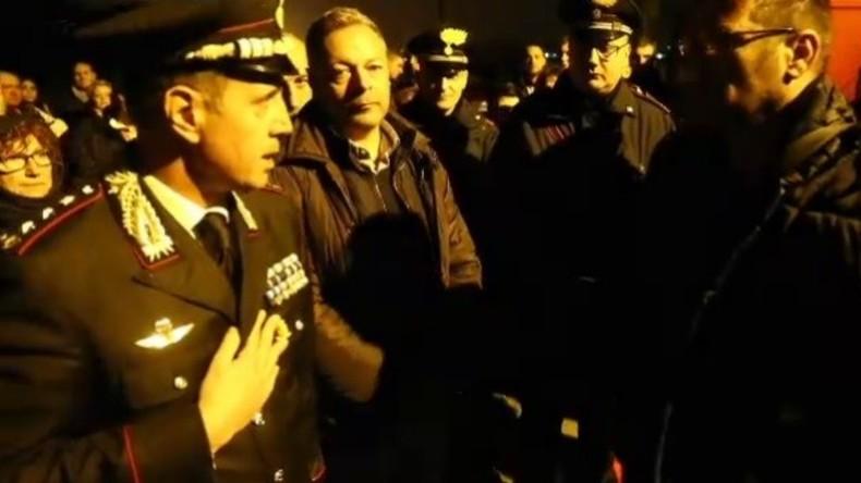 Italien: Proteste in Gorino gegen Einzug von Flüchtlingen
