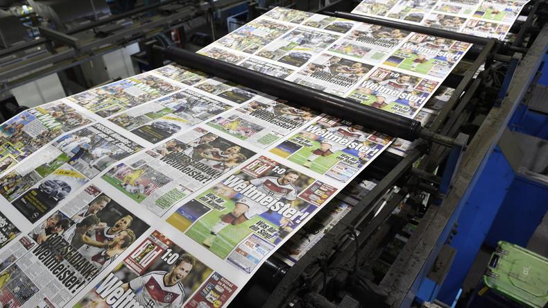 Mainstreampresse auf Talfahrt: Verkaufszahlen brechen weiter ein