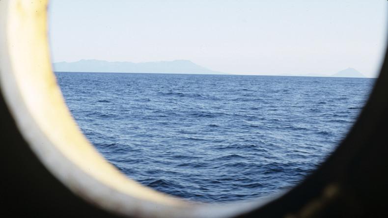 Brand auf Schiff in Pazifik: 52 Menschen an Bord