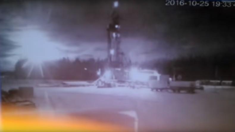 Russland: Meteorit rast über Burjatien
