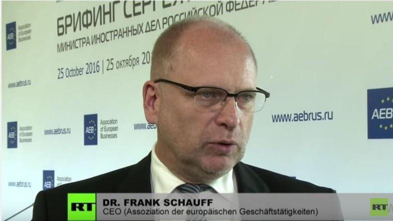 """Frank Schauff: """"Russland bleibt einer der wichtigsten Handelspartner der EU"""""""
