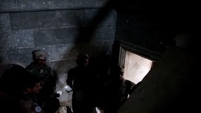 Geheime IS-Tunnels nahe Mossul entdeckt