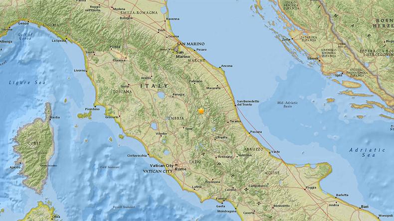 Erdbeben der Stärke 5,4 erschüttert Italien