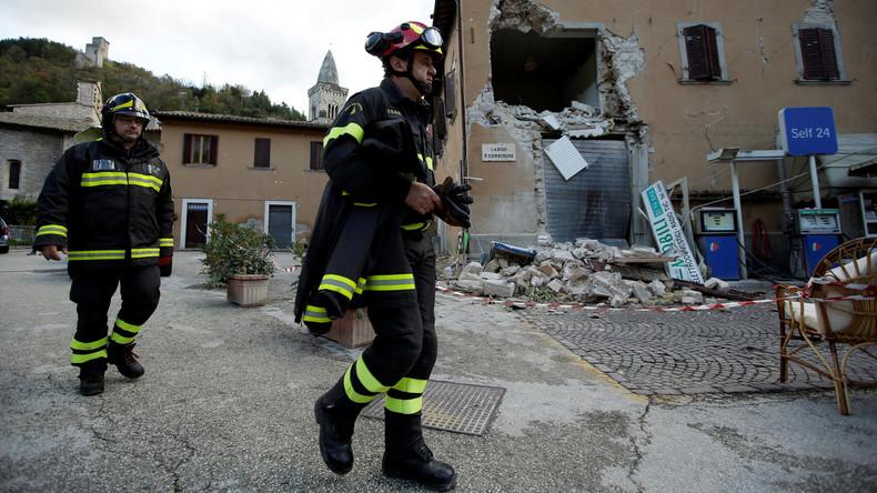Erdbeben in Italien machen tausende Menschen obdachlos