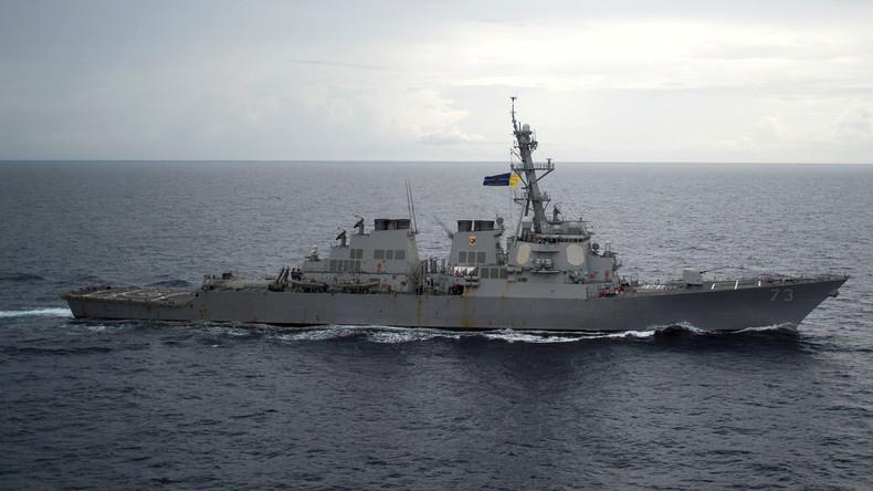 """Nach """"US-amerikanischer Provokation"""": China startet Manöver im Südchinesischen Meer"""