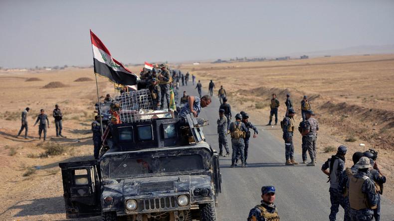 Irakische Milizen erobern IS-Schlüsselstab in Mossul