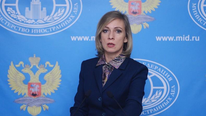 Alles Lügen - Sacharowa zur angeblichen Beteiligung Russlands am Luftangriff auf syrische Schule