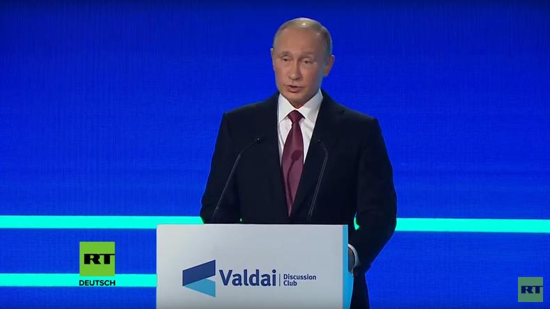 Putin: Amerika ist eine Großmacht und keine Bananenrepublik