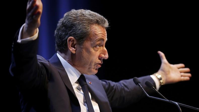 Nicolas Sarkozy, Ex-Parteivorsitzender der Partei Les Républicains bei einer Wahlkampfveranstaltung, Toulon, Frankreich, 21. Oktober, 2016.