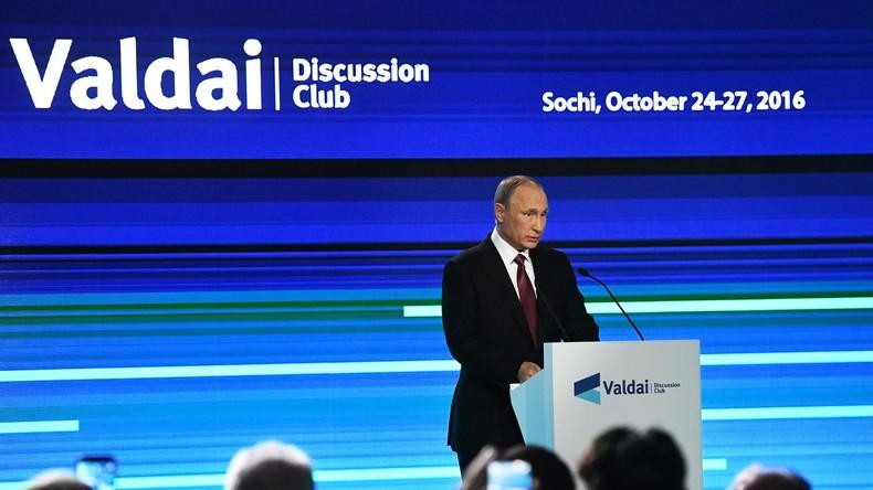 Putin: Militärische Bedrohung durch Russland ist Mythos