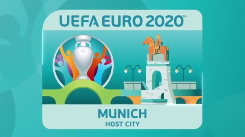 EM 2020: UEFA präsentiert Logo für München