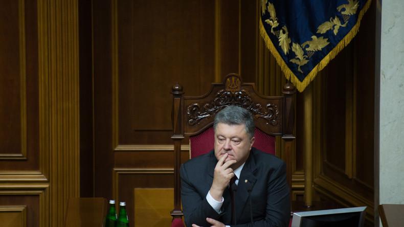 Poroschenko beschließt, Löhne von vier Millionen Ukrainern zu erhöhen