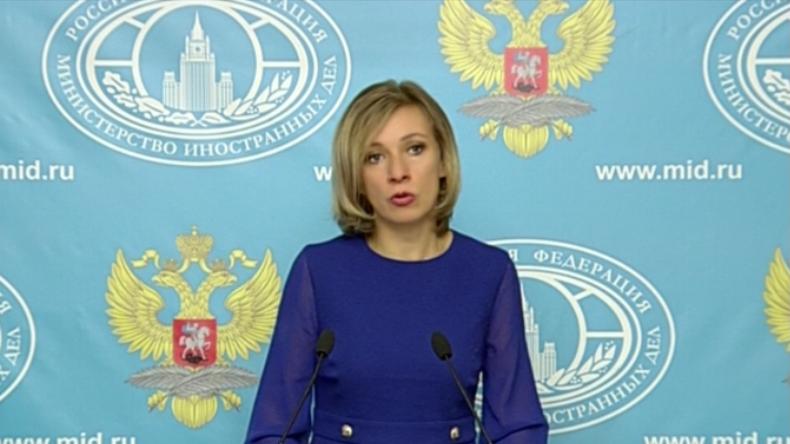 Maria Sacharowa: Die gesamte US-Koalition ist völkerrechtswidrig in Syrien