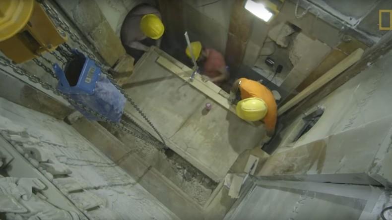 Wissenschaftler öffnen erstmals seit 16. Jahrhundert Grab Jesu
