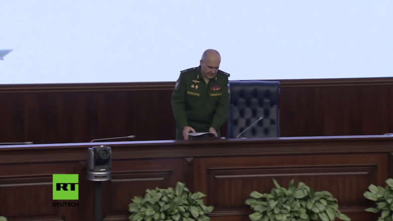 Wiederholung der Pressekonferenz des russischen Verteidigungsministeriums zu Syrien
