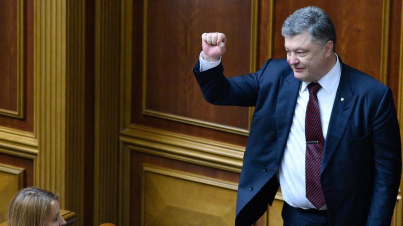 Poroschenkos Gesetzesinitiativen besorgen G7-Botschafter