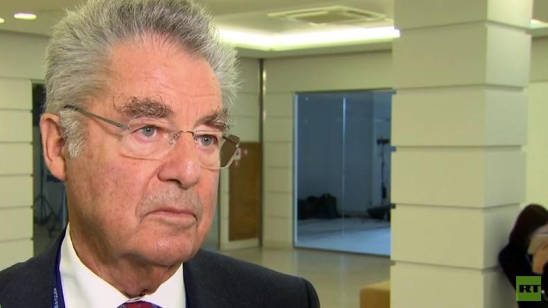 """Ehemaliger Präsident Österreichs Heinz Fischer: """"Sanktionen schaden beiden Seiten"""""""