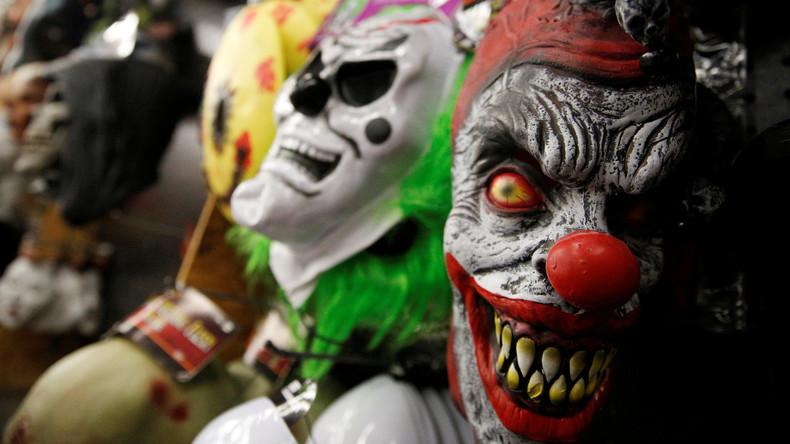 Halloween ohne Killer-Clowns - Grusel-Masken außer Verkauf in Deutschland