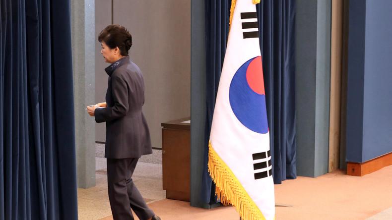 Südkorea protestiert gegen Präsidentin Park Geun-hye