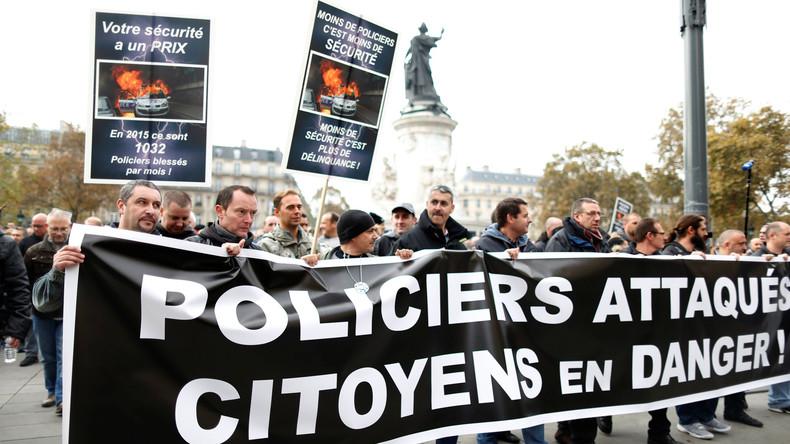 """Französische """"Polizei wütend"""" – """"Wir wollen lebendig nach Hause"""""""