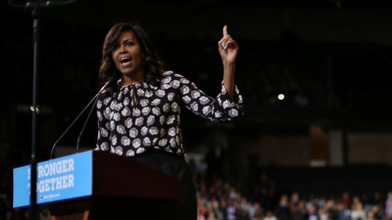 Obama: Meine Frau wird nie Präsidentin