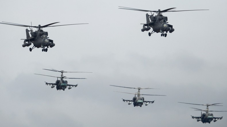 """Videos von """"Top-Secret-Helikopter von Putin über Syrien"""" veröffentlicht"""