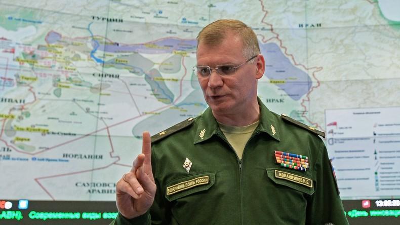 """Russlands Militärbehörde: """"Seit 13 Tagen keine russischen und syrischen Flugzeuge über Aleppo"""""""