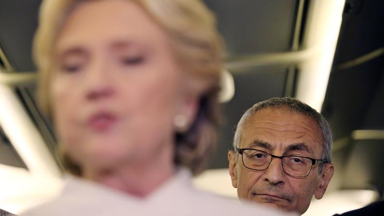 Podesta-Leaks: Hillary Clinton hat ihre Kontakte zu Bankiers verheimlicht