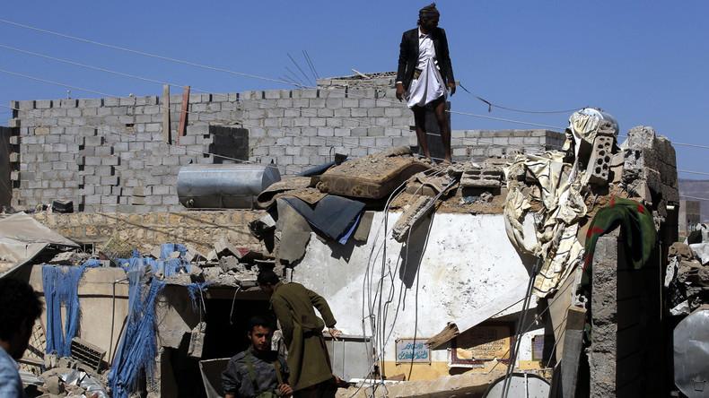 Luftangriffe auf Jemen: Die Zahl der Opfer steigt auf 60 Menschen