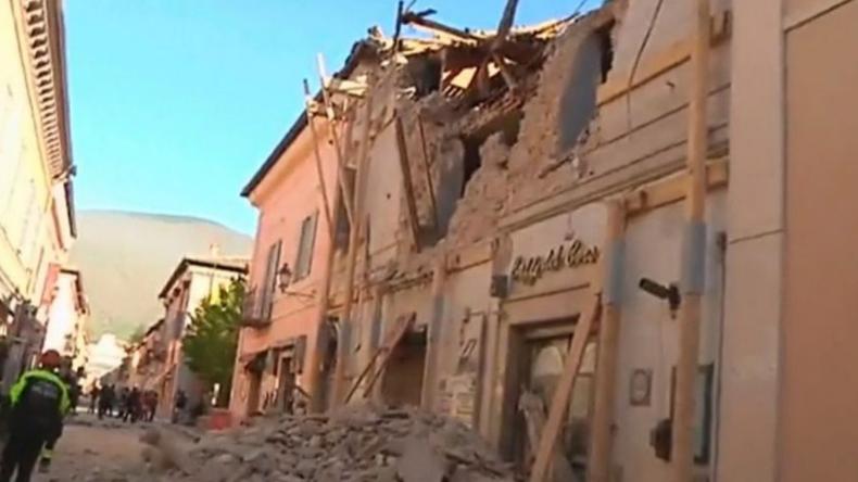 Italien: Rund 8.000 Menschen nach Erdbeben untergebracht