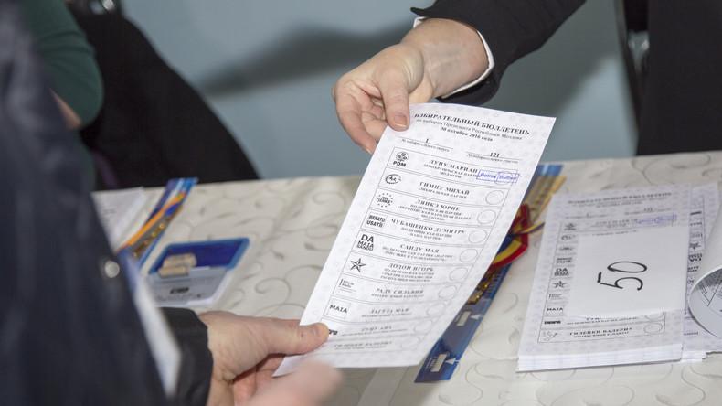 Moldawien: Präsidentschaftswahl wird durch Stichwahl entschieden
