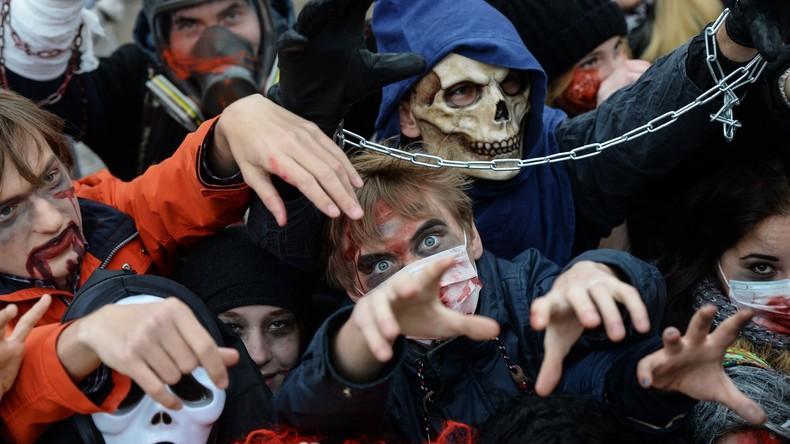 Moskau gruselt mit: Auch in Russland wird heute Halloween gefeiert