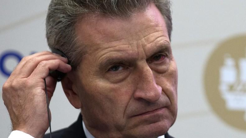 Schlitzohrige Idee: Günther Oettinger (CDU) soll neuer Haushaltskommissar der EU werden