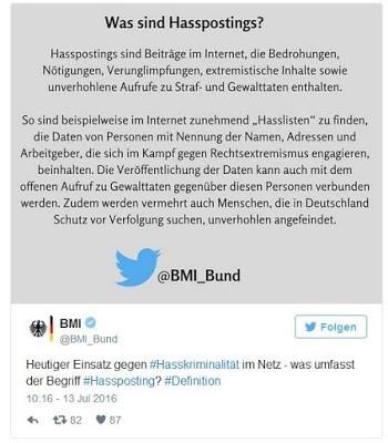 BILD-Reporter Julian Röpcke, Hasspostings und die Doppelmoral deutscher Behörden