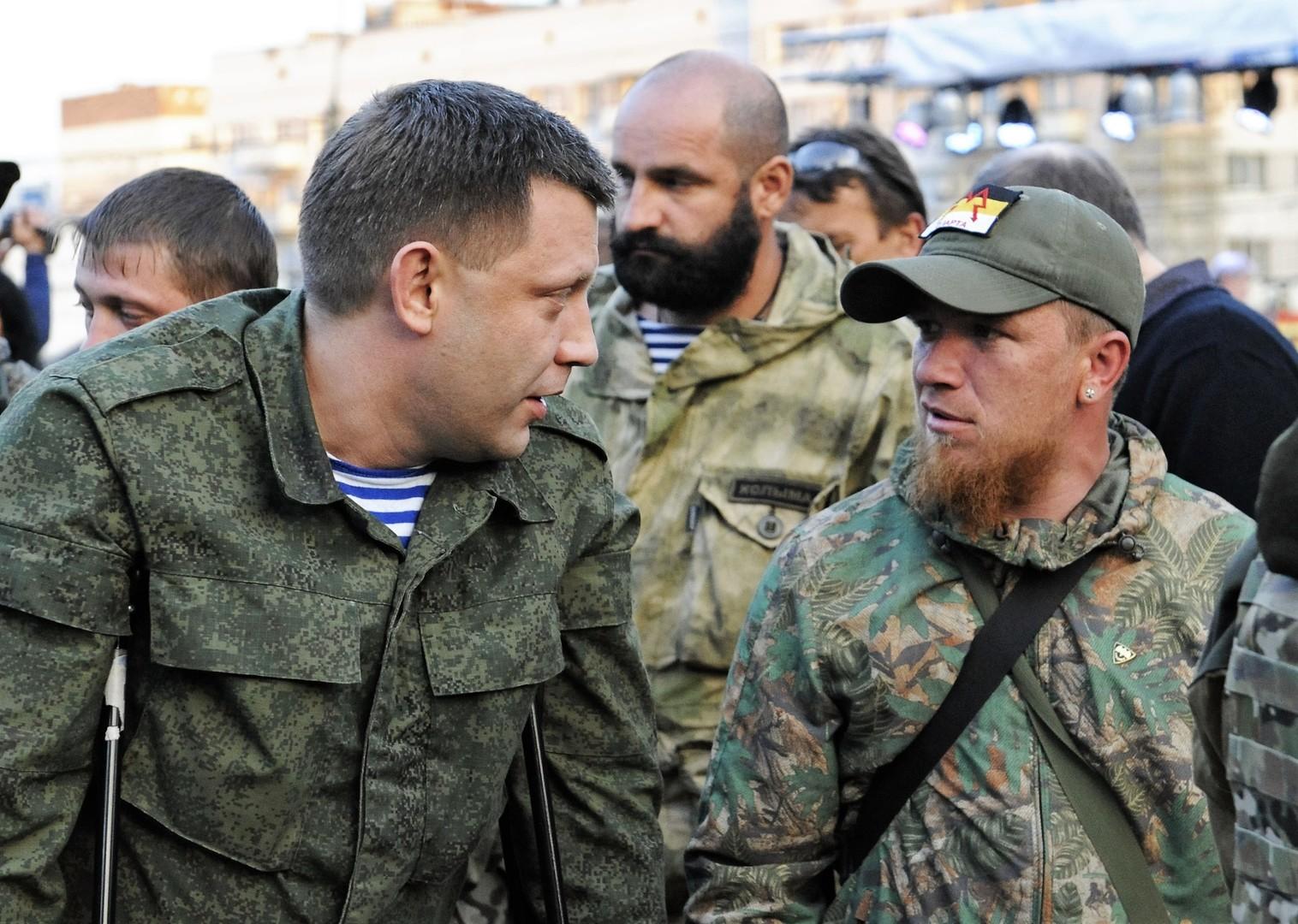 """Terror in der Ostukraine: Volkswehr-Kommandant Arseni Pawlow """"Motorola"""" durch Anschlag getötet"""
