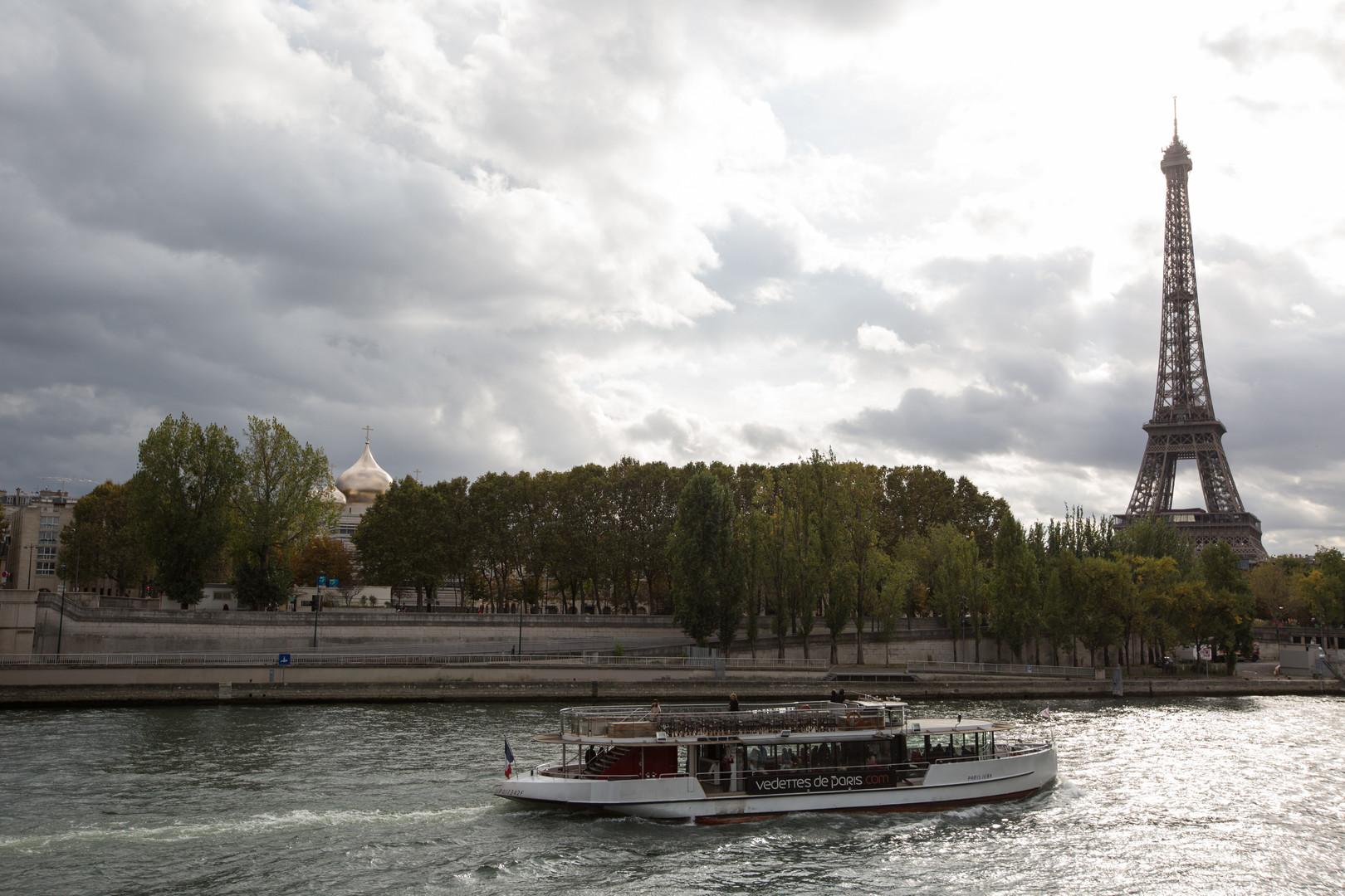 Das neue russisch-orthodoxe Religions- und Kulturzentrum in Paris, unweit des Eiffelturms.