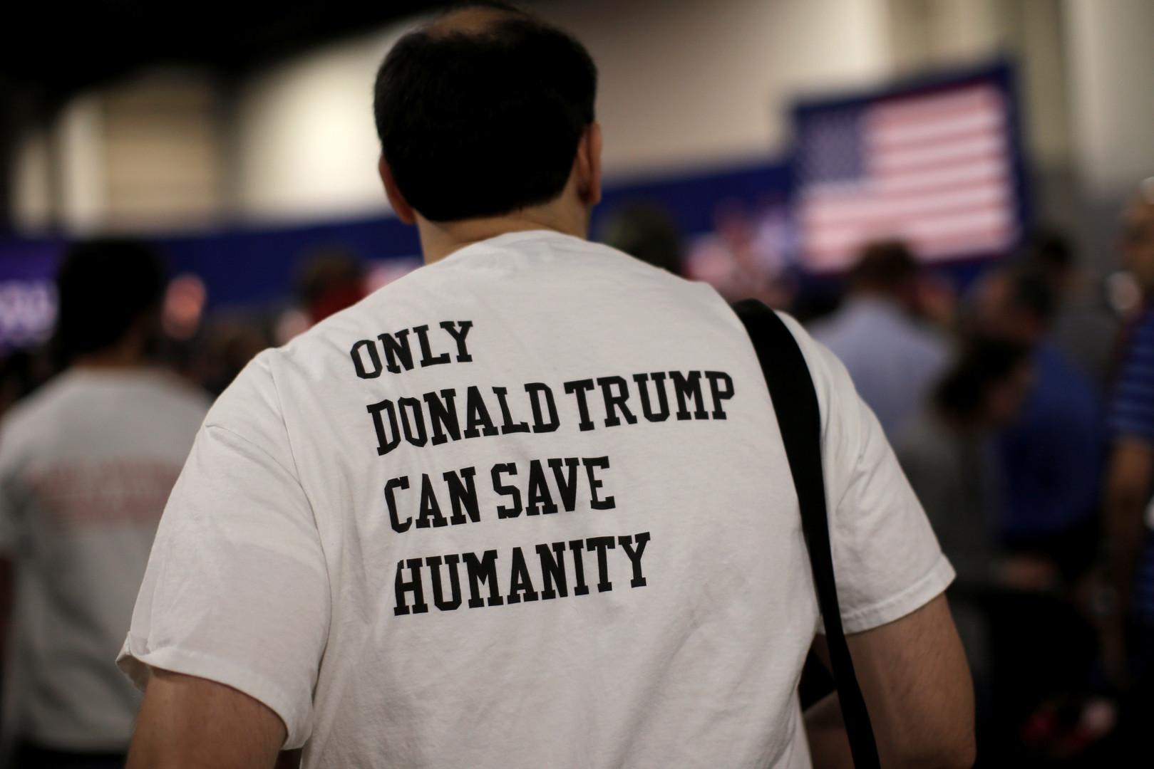 Nur Donald Trump kann die Menschheit retten
